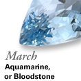 March - Aquamarine
