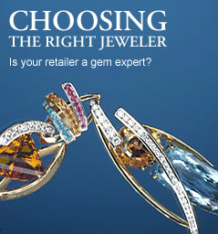 Choosing the right jeweler. Is your retailer a gem expert?